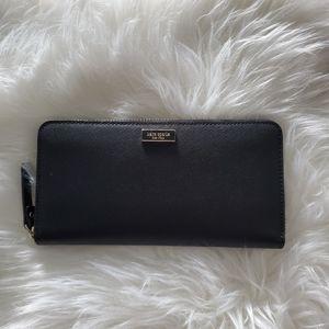 kate spade ♠️  laurel way neda zip around wallet